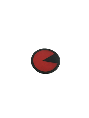 BA40-15394-00 - PLAY BUTTON STCKR - RED :
